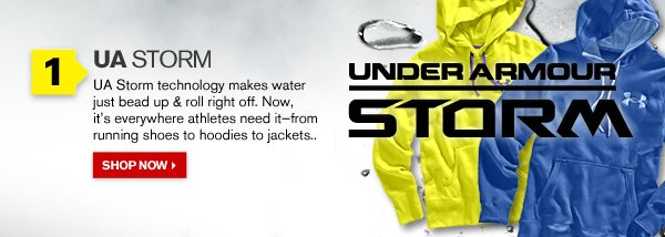 UA CHARGED COTTON® STORM
