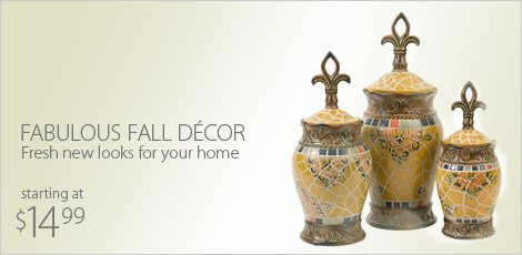 Fabulous Fall Decor: Fresh new looks for your home