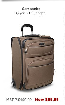 Shop Samsonite Glyde 21 in. Upright