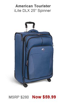 Shop American Tourister iLite DLX 25 in. Spinner