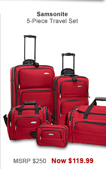 Shop Samsonite 5-Piece Travel Set