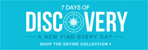 7 Days of Discovery - A New Find Every Day