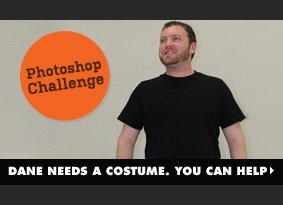 Dane Needs a Costume. You Can Help.