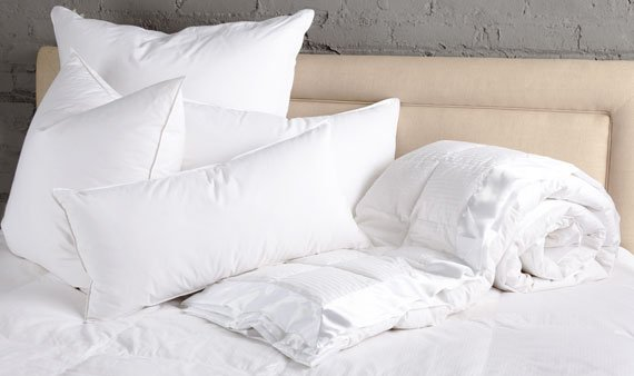Luxury Down Bedding and Pillows  - Visit Event
