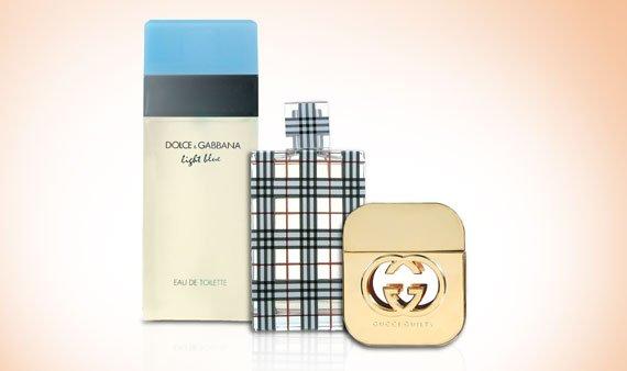 Designer Fragrances: Burberry, Gucci & More     - Visit Event