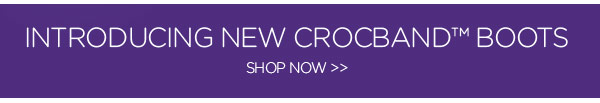 Introducing New Crocsband™ Boots - Shop Now
