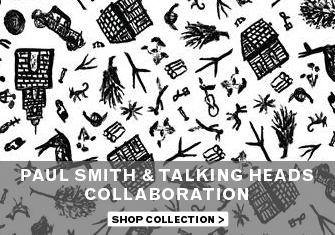 Paul Smith and Talking Heads - Shop Collection