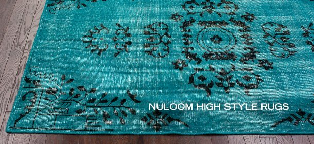 NULOOM HIGH STYLE RUGS, Event Ends October 18, 9:00 AM PT >