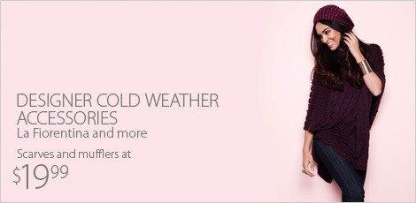 Designer Cold Weather Accessories