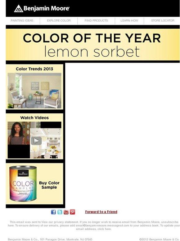 Benjamin Moore Color Of The Year 2013 benjamin moore paints: benjamin moore's color trends 2013 color of