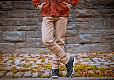 Shop Fall Essentials: Dark Denim & Chinos