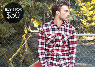 Shop The Trend: Flannels & Gingham