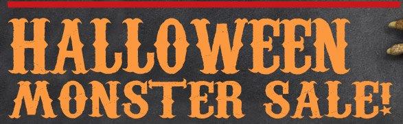 Halloween Monster Sale!