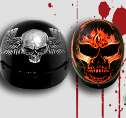 Outlaw Half Helmets