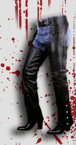 Women's Leather Chaps & Pants