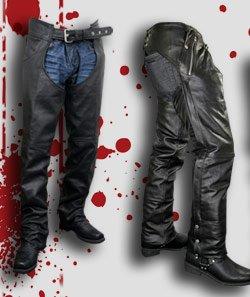 Men's Leather Chaps & Pants