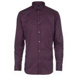 Paul Smith Shirt - Slim-Fit Geometric Pattern Shirt