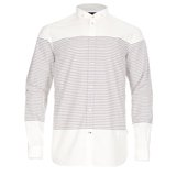 Paul Smith Shirts - White Horizontal Stripe Shirt