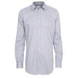 Paul Smith Shirts - Navy And White Stripe Shirt
