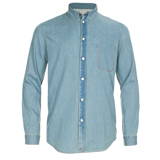 Paul Smith Shirts - Light Wash Chambray Shirt