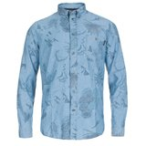 Paul Smith Shirts - Yosemite Print Chambray Shirt