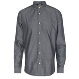 Paul Smith Shirts - Black Marl Twill Shirt
