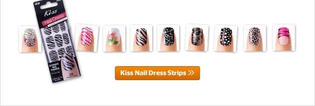 Kiss Nail Dress Strips