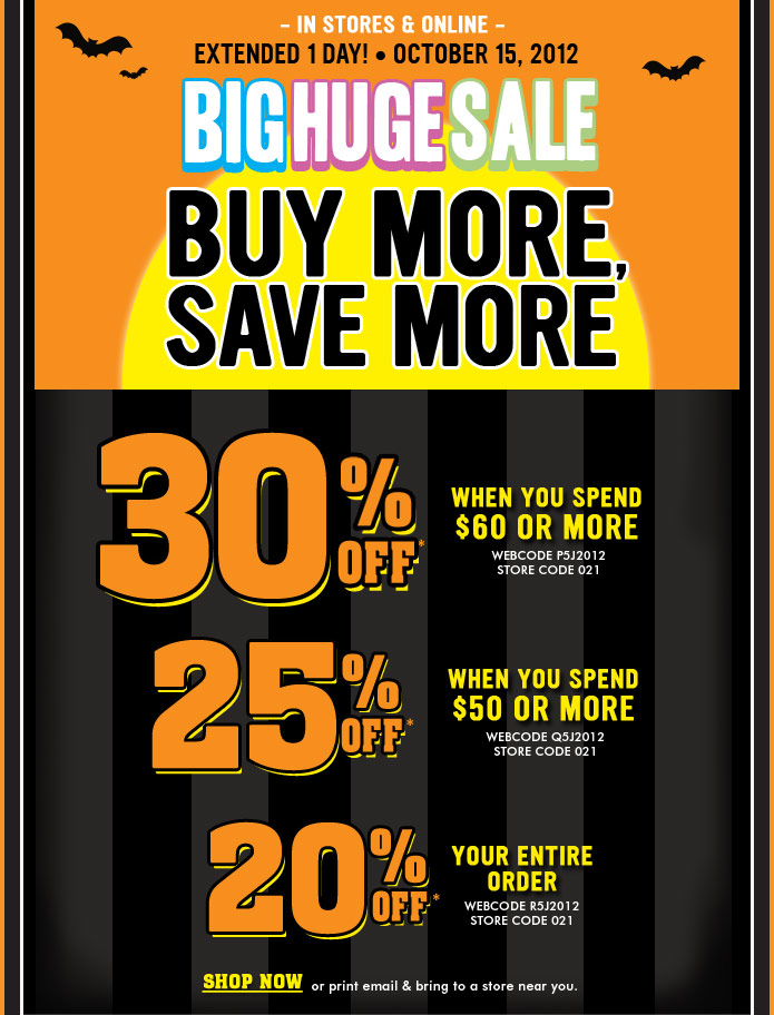 30% Off  When You Spend $60 Or More