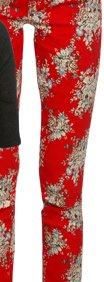 Spaced Floral Skinny Jean