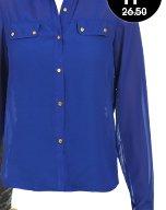 Long Sleeve Chiffon Shirt