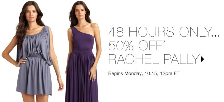 50% Off* Rachel Pally...Shop now