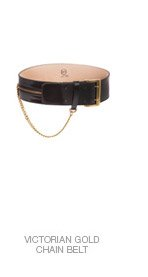 Shop The Victorian Gold Chain Belt