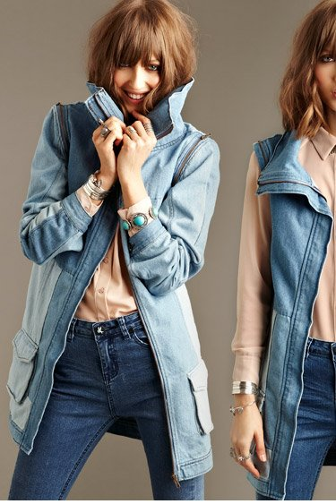 Change it up with shades of denim and other new looks for Fall