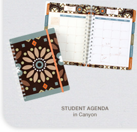 Student Agenda in Canyon