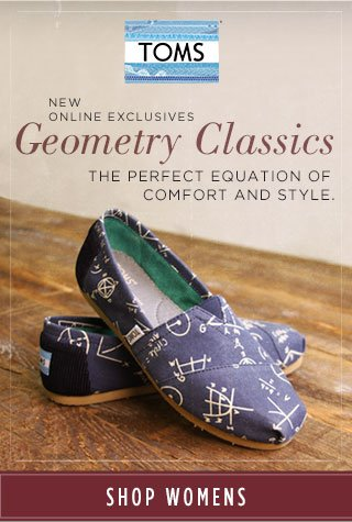 New online exclusives - geometry classics