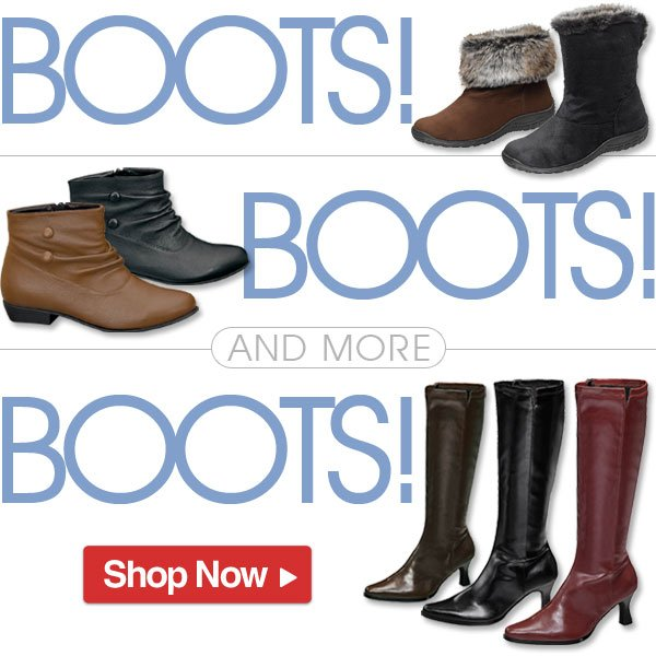 Boots, Boots and... more Boots!