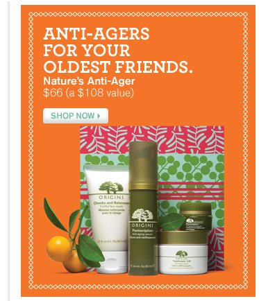 ANTI AGERS FOR YOUR OLDEST FRIENDS Nature s Anti Ager 66 dollars a 108 dollar value SHOP NOW