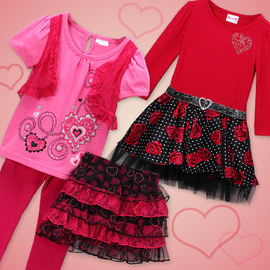 Sweet Hearts: Girls' Apparel