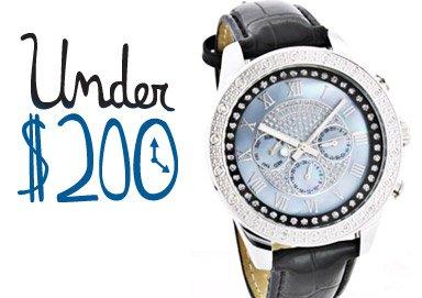 Shop Watches Under $200