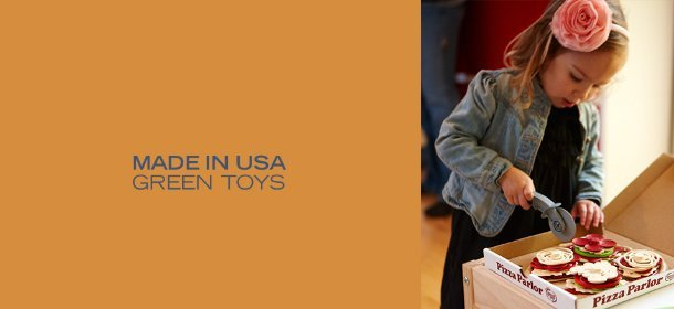 MADE IN USA:GREEN TOYS, Event Ends October 19, 9:00 AM PT >