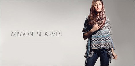 Missoni Scarves and more-pattern play