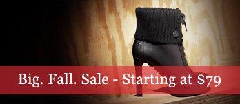 Big. Fall. Sale. Boots