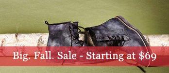 Big. Fall. Sale. Men's Boots