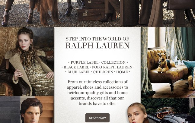 Step Into the World of Ralph Lauren