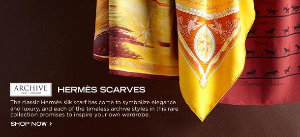 ARCHIVE: HERMÈS SCARVES, Event Ends October 22, 9:00 AM PT >