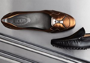Traditional Styles from Tod's & Bruno Magli