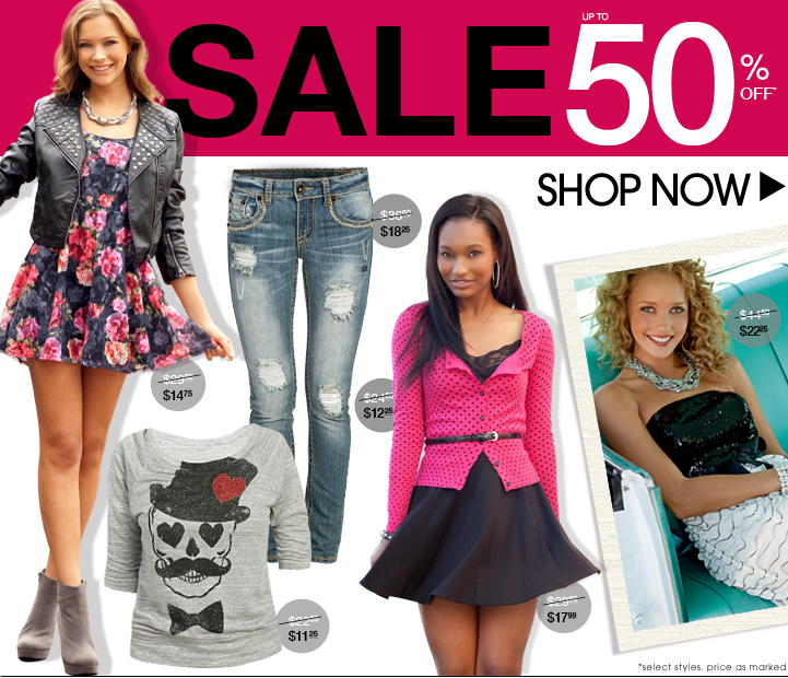 Shop 50% OFF Fall Styles!
