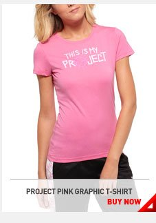 PROJECT PINK GRAPHIC T-SHIRT. BUY NOW›