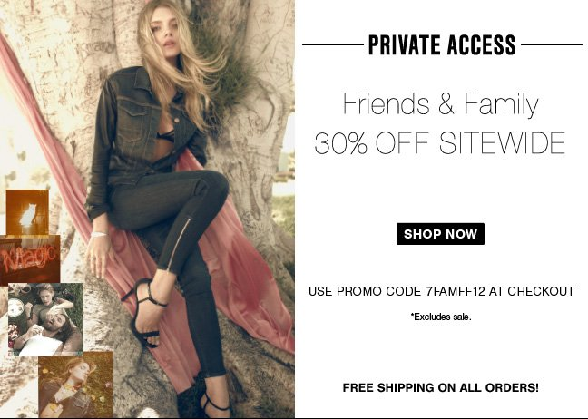 30% Off Sitewide! Your Exclusive Access Starts Now!