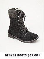 Denver Boots $69.00
